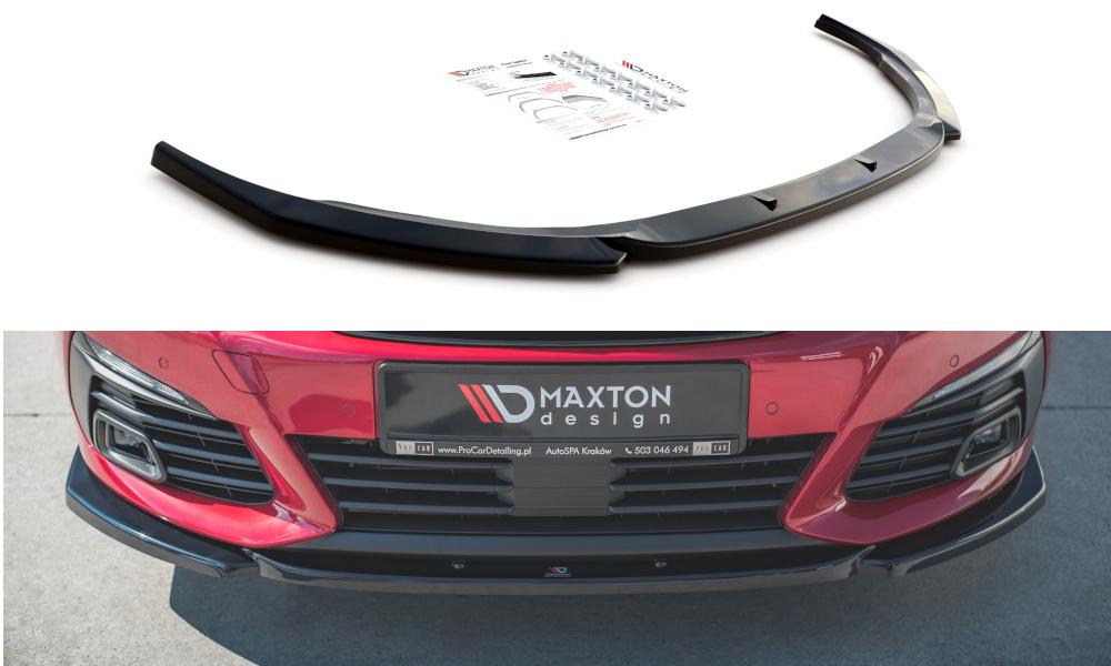 SPLITTER PRZEDNI V.2 PEUGEOT 308 GT MK2 FACELIFT - GRUBYGARAGE - Sklep Tuningowy